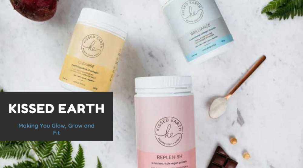Kissed Earth - Making You Glow, Grow and Fit