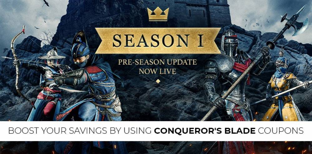 Boost your savings by using Conqueror's Blade Coupons
