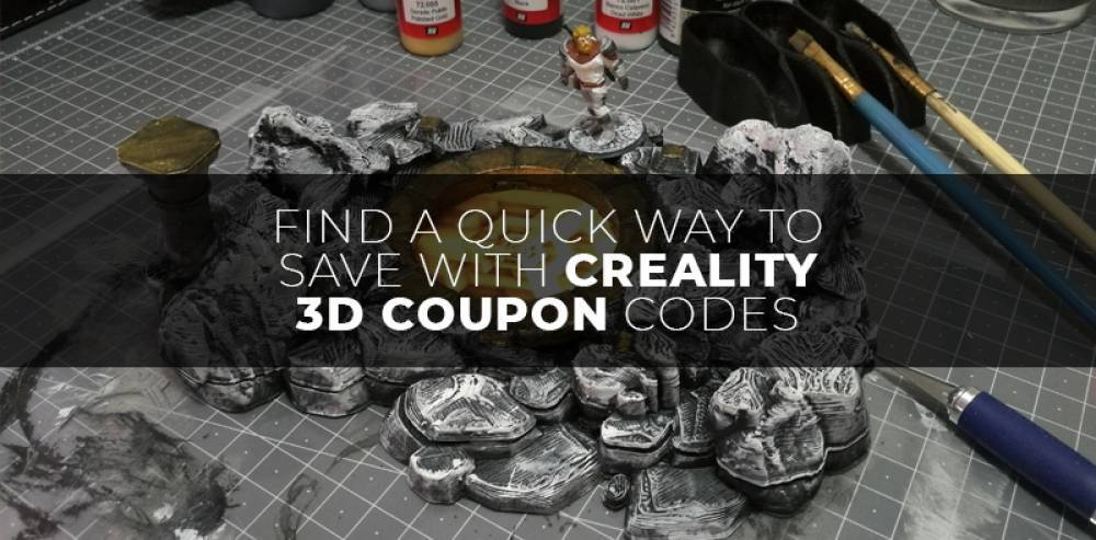 Find A Quick Way to Save with CREALITY 3D COUPON CODES