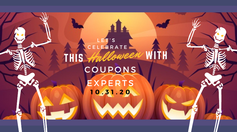 Let's Celebrate This Halloween with Coupons Experts
